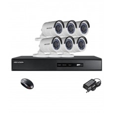 Hikvision 4CH NVR with 2Megapixel IP Camera